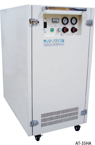 Dry air generators With built-in compressors