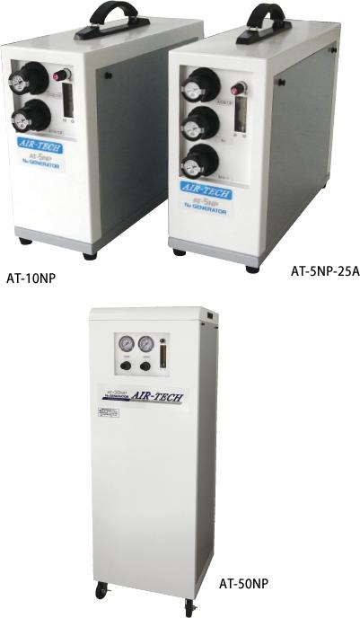 Membrane series Nitrogen gas generators